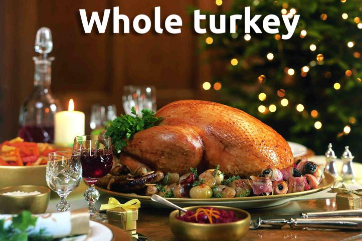 Appledore Whole Bronze Free Range Turkey