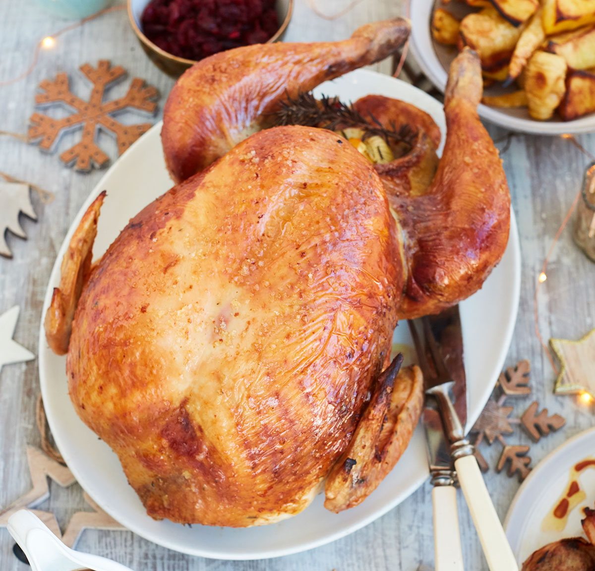 The perfect Christmas roast turkey