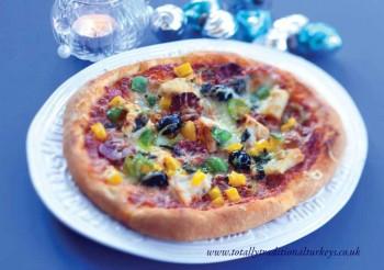 Hot Spicy Turkey Pizza