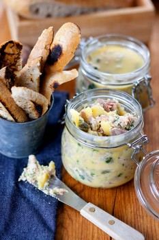 Potted Turkey Ham and Parsley Meat